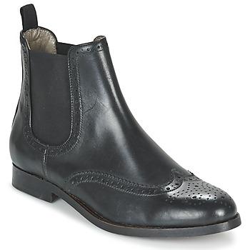 Skor Dam Boots Hudson ASTA CALF Svart