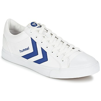 Skor Sneakers Hummel BASELINE COURT Vit / Blå