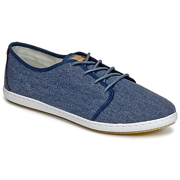 Skor Herr Sneakers Lafeyt DERBY HEAVY CANVAS Marin