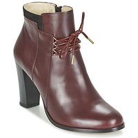 Skor Dam Boots M. Moustache EMMA Bordeaux / Svart