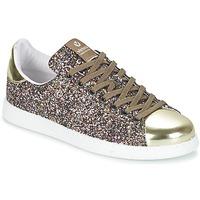 Skor Dam Sneakers Victoria DEPORTIVO BASKET GLITTER Flerfärgad