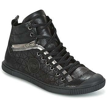 Skor Dam Höga sneakers Pataugas BANJOU Svart
