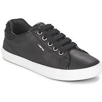 Skor Flick Sneakers Geox KIWI GIRL Svart