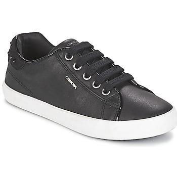 Skor Flickor Sneakers Geox KIWI GIRL Svart