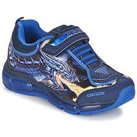 Skor Pojk Sneakers Geox ANDROID BOY Blå