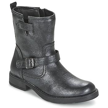 Skor Flickor Boots Geox SOFIA Svart