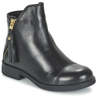 Skor Flickor Boots Geox AGATE Svart