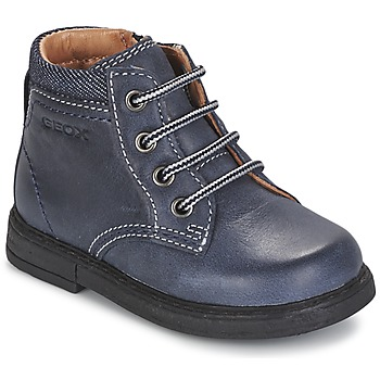 Skor Pojk Boots Geox B GLIMMER Blå
