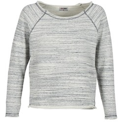 textil Dam Sweatshirts Yurban FLIMANE Grå / Blå