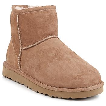 Skor Dam Boots UGG CLASSIC MINI CHESTNUT
