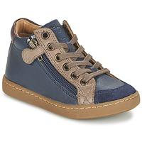 Skor Barn Höga sneakers Shoo Pom PLAY HIBI ZIP Marin / Mullvadsfärgad
