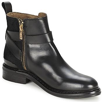 Skor Dam Boots Koah LINSY Svart / Svart