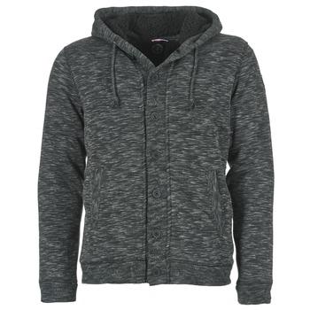 textil Herr Sweatshirts Le Temps des Cerises GORDON Svart / Grå