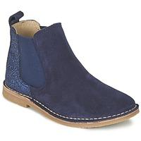 Skor Flickor Boots Citrouille et Compagnie FIGOULI Blå