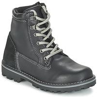 Skor Pojkar Boots Citrouille et Compagnie FACOSA Svart