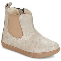Skor Flickor Boots Citrouille et Compagnie FEPOL Silver
