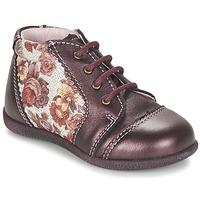 Skor Flickor Boots Citrouille et Compagnie FRICOL Violett