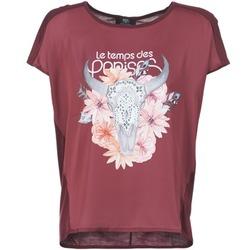 textil Dam T-shirts Le Temps des Cerises CRANEFLO Bordeaux