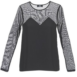 textil Dam T-shirts Le Temps des Cerises ALANNAH Svart