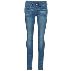 textil Dam Skinny Jeans G-Star Raw LYNN MID SKINNY Blå