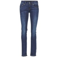 textil Dam Raka byxor G-Star Raw MIDGE SADDLE MID STRAIGHT Denim