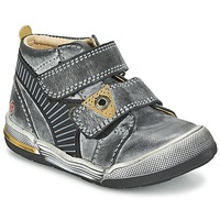 Skor Pojk Boots GBB NATHAN Grå / Gul