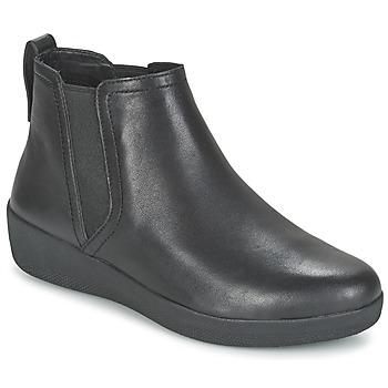 Skor Dam Boots FitFlop SUPERCHELSEA BOOT Svart