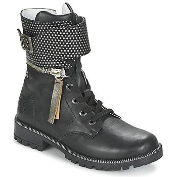 Skor Flickor Boots Ikks PEGGY Svart