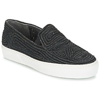 Skor Dam Slip-on-skor Robert Clergerie TRIBAL Svart