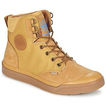 Skor Herr Boots Palladium PALLARUE WP Honung