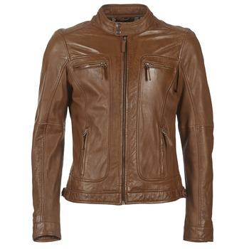 textil Herr Skinnjackor & Jackor i fuskläder Oakwood 60901 Cognac