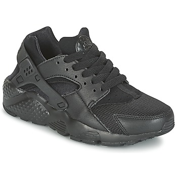 Skor Barn Sneakers Nike HUARACHE RUN JUNIOR Svart
