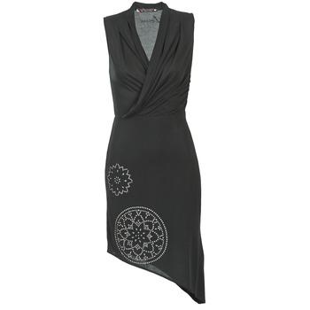 textil Dam Korta klänningar Desigual RAZIANA Svart