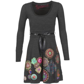 textil Dam Korta klänningar Desigual RIDOUBA Grå