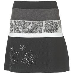 textil Dam kjolar Desigual REVUNE Svart / Grå