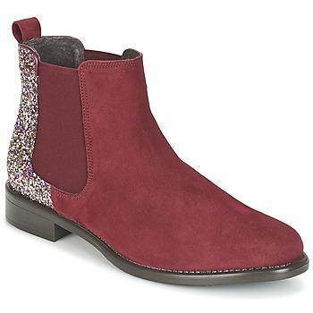 Skor Dam Boots Betty London FREMOUJE Bordeaux