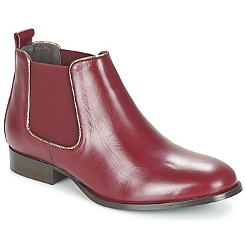 Skor Dam Boots Betty London FOLOIE Bordeaux
