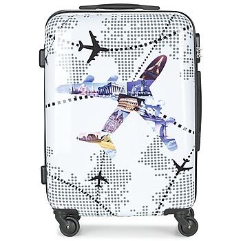 Väskor Hårda resväskor David Jones OUSKILE 50L Flerfärgad