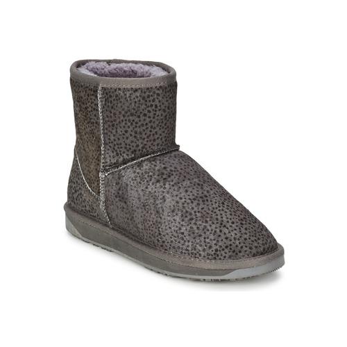 Skor Dam Boots Booroo MINNIE LEO Grå / Leo