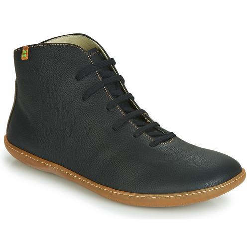 Skor Boots El Naturalista EL VIAJERO Svart