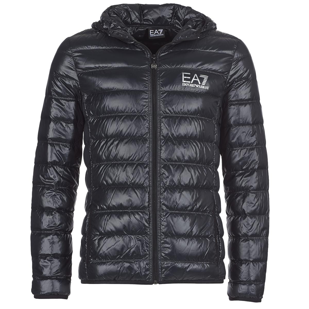 Emporio Armani EA7 ANDOURALO Svart - Fri frakt hos Spartoo.se ! - textil  Täckjackor Herr 1859 4c63bb14bff09