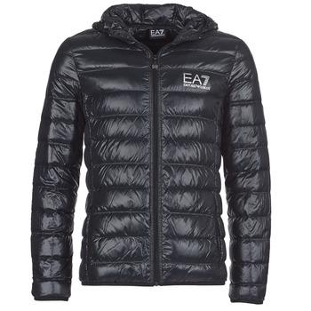 textil Herr Täckjackor Emporio Armani EA7 ANDOURALO Svart