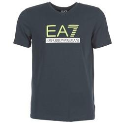 textil Herr T-shirts Emporio Armani EA7 JANTLOA Marin