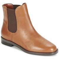 Skor Dam Boots Ralph Lauren BELVA COGNAC