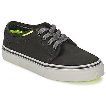 Skor Barn Sneakers Vans 106 VULCANIZED Svart / Grå / Gul