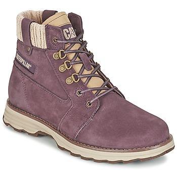 Skor Dam Boots Caterpillar CHARLI Violett