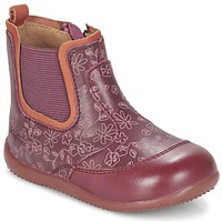 Skor Flick Boots Kickers BIGOR Bordeaux / Orange