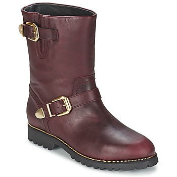 Skor Dam Boots SuperTrash MARYLIN Bordeaux
