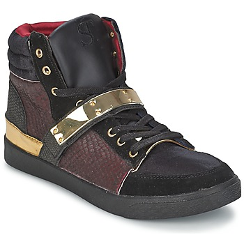 Skor Dam Höga sneakers SuperTrash GOLDY Bordeaux