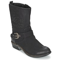Skor Dam Boots Spot on GANIA Svart